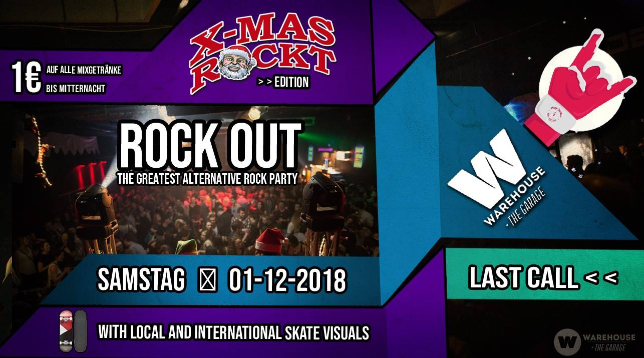 ROCK OUT #23 – Last Call X-Mas Rockt Edition