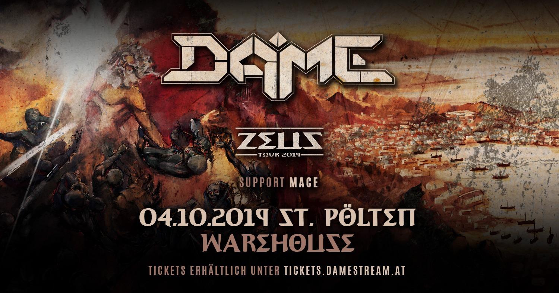 DAME – ZEUS Tour 2019