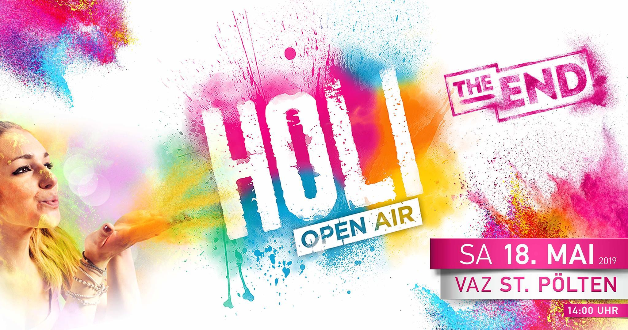 HOLI Festival der Farben St. Pölten 2019 – The End