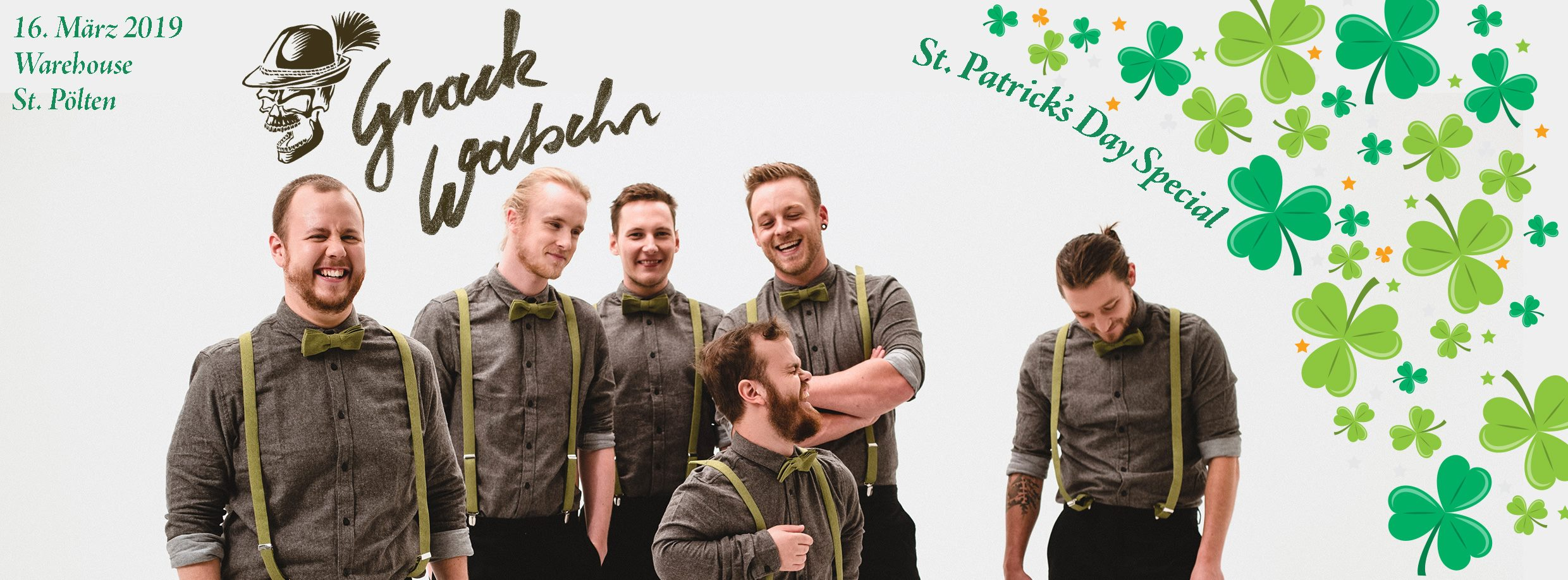 Gnackwatschn Live – St.Patrick's Day Special