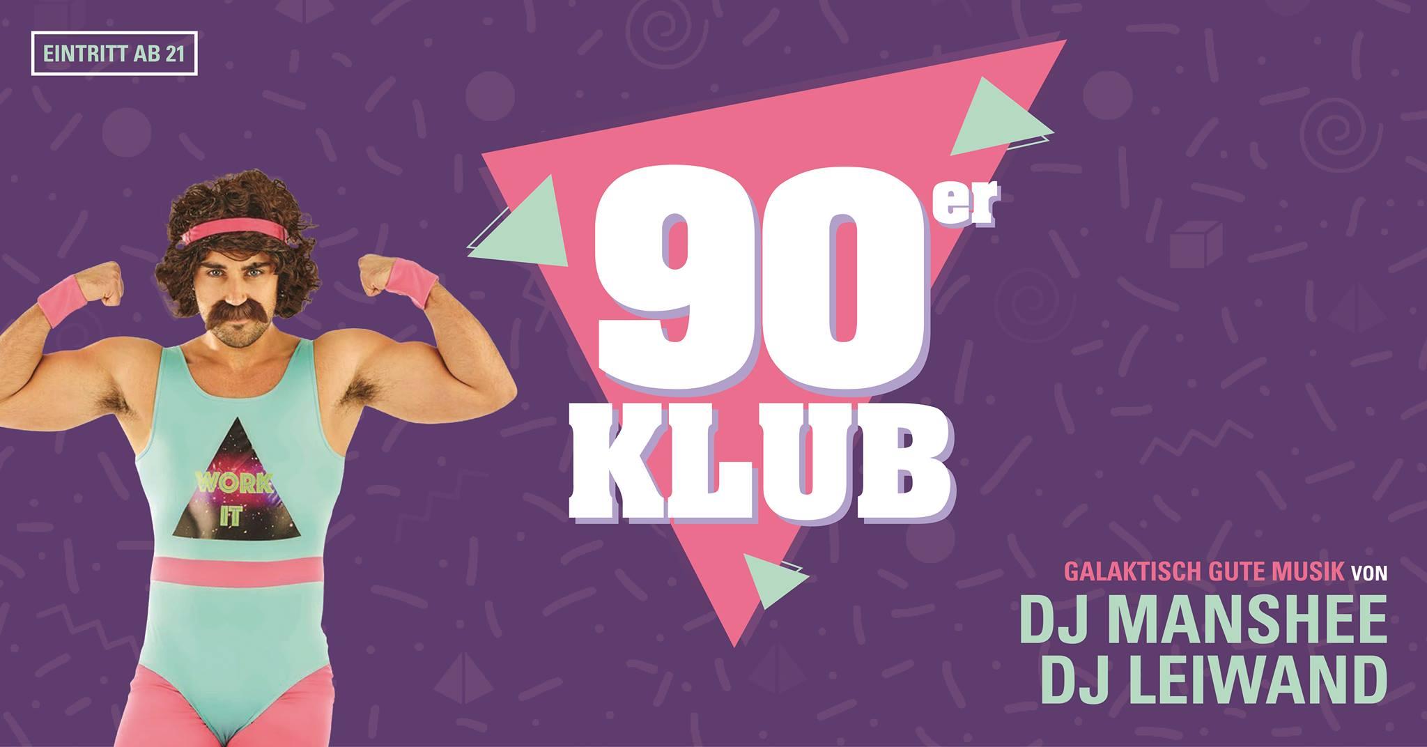 90er Klub – ab 21 Jahren