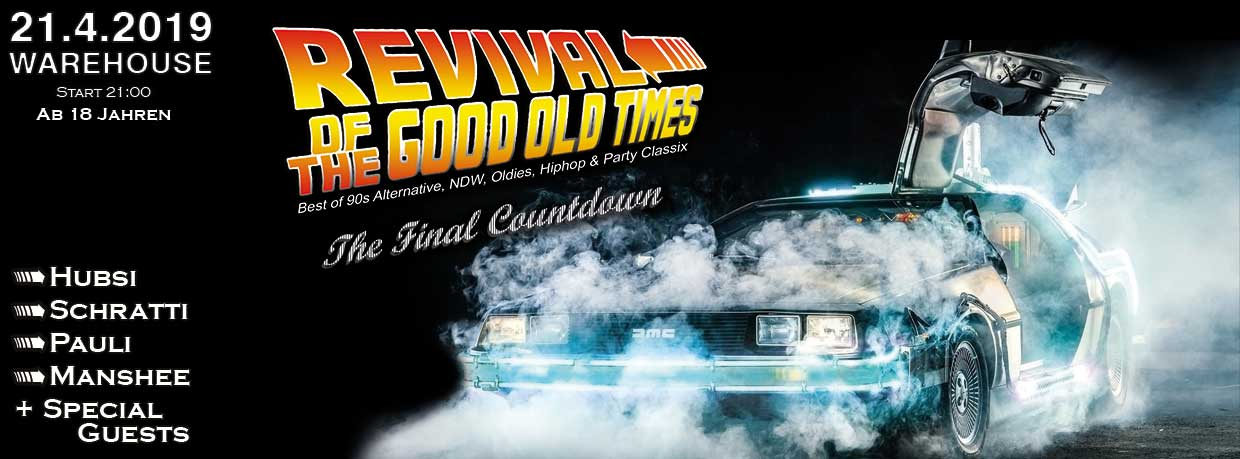 Revival of the Good Old Times – The Final Countdown