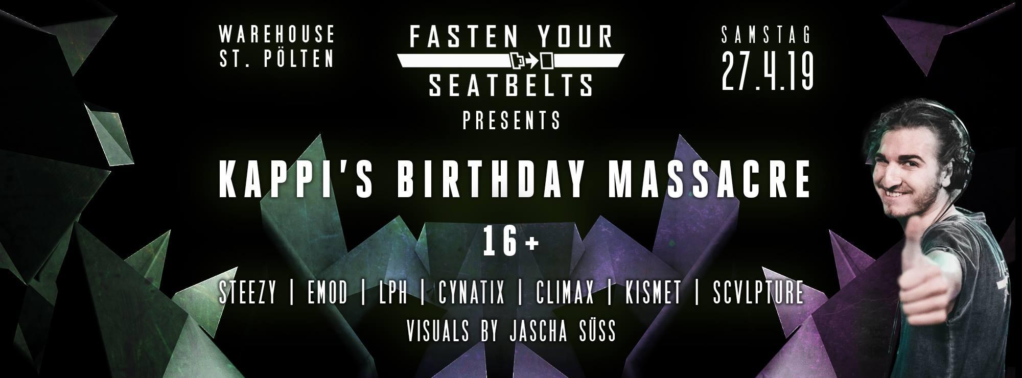 Fasten Your Seatbelts – Kappi's Birthday Massacre