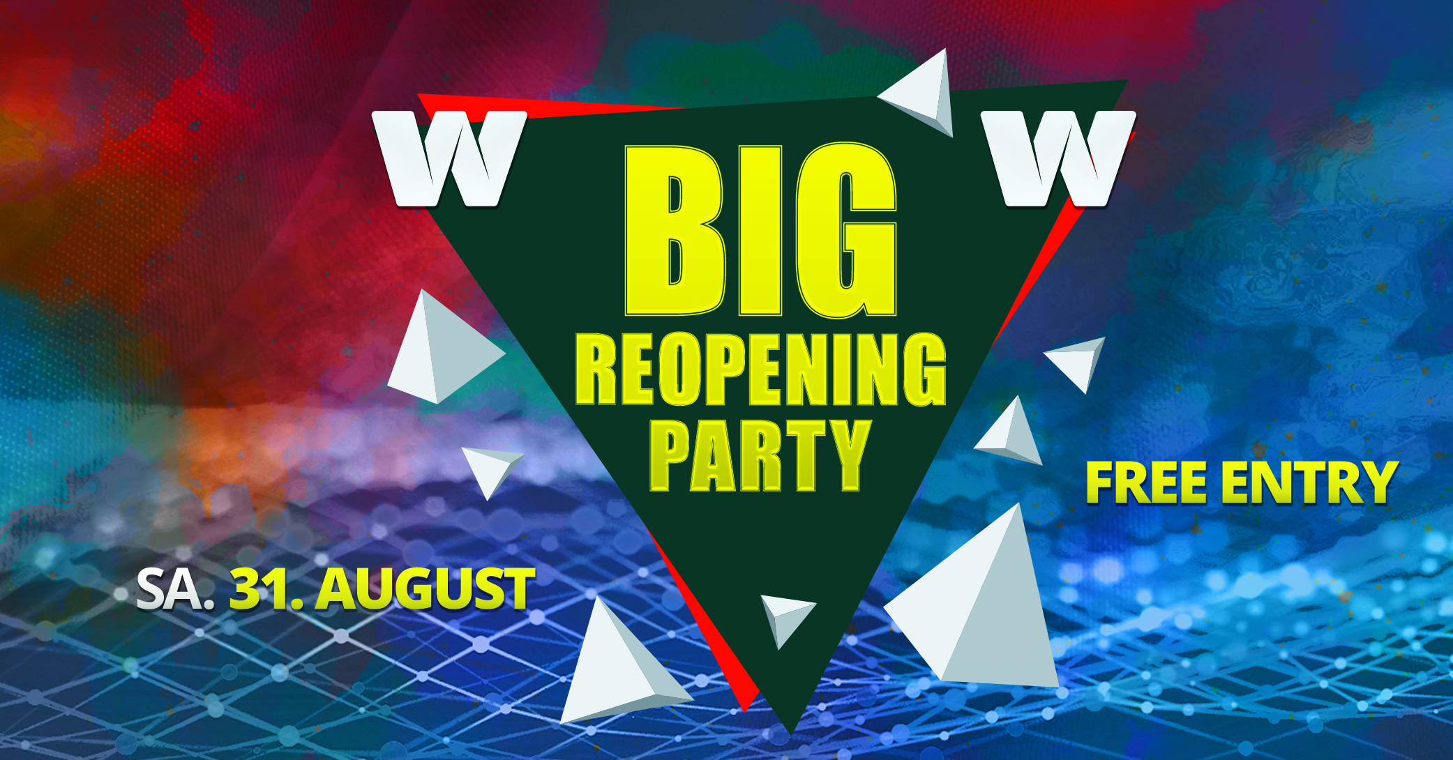 Big Re-Opening Party